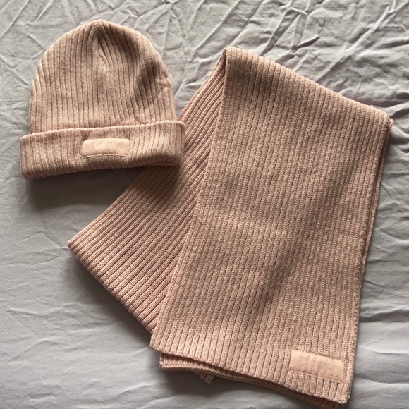 Matching Beenie and Scarf set